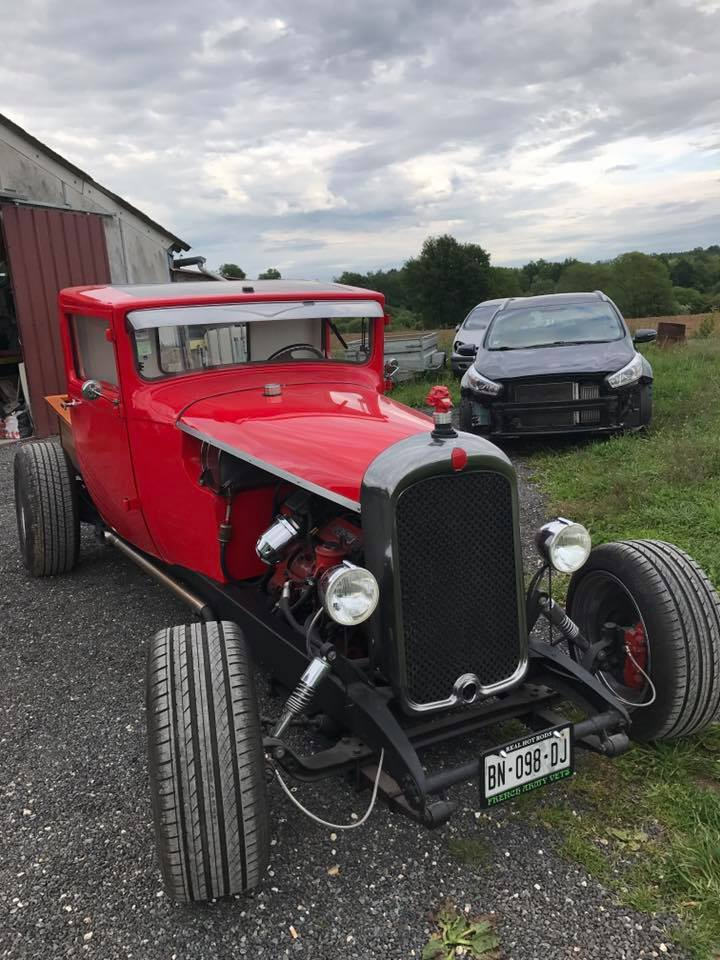 Hot rod citroen 1930 v6
